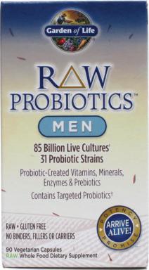 Review Of Garden Of Life S Men S Probiotics