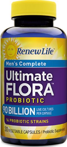 Review Of Renewlife Men S Probiotics Probiotics Org
